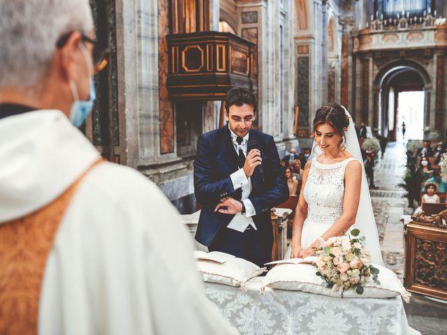 Il matrimonio di Emanuele e Ludovica a Sutri, Viterbo 28