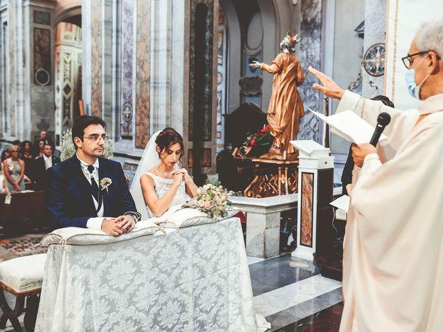 Il matrimonio di Emanuele e Ludovica a Sutri, Viterbo 33