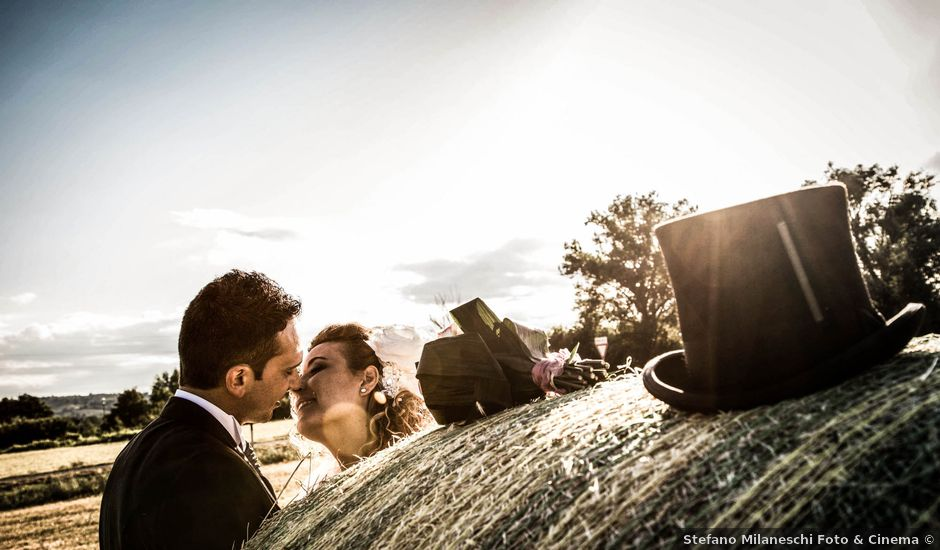 Il matrimonio di Elena e Cristian a Foiano della Chiana, Arezzo