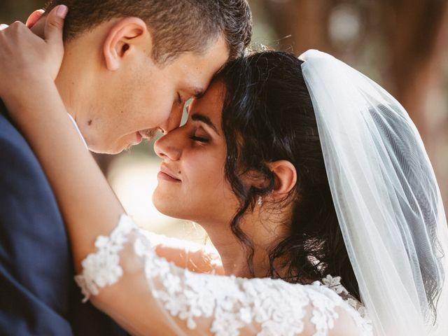 le nozze di Lucia e Giuseppe