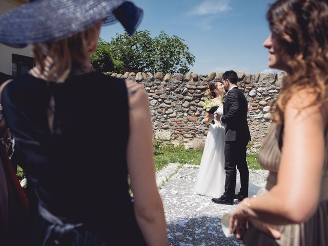Il matrimonio di Andrea e Giulia a Pescantina, Verona 37