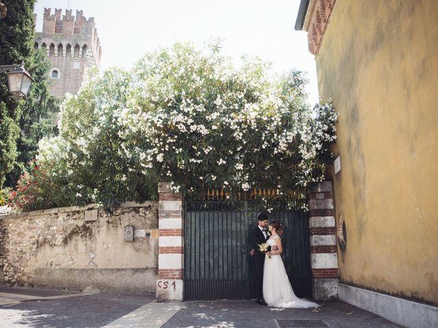 Il matrimonio di Andrea e Giulia a Pescantina, Verona 44