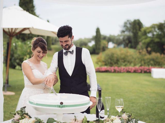 Il matrimonio di Andrea e Giulia a Pescantina, Verona 62