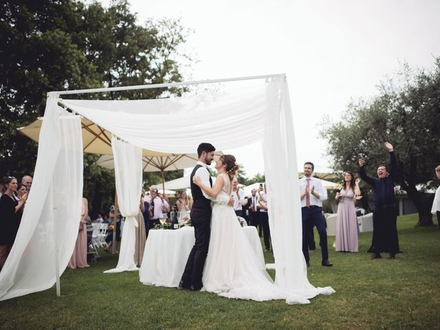 Il matrimonio di Andrea e Giulia a Pescantina, Verona 63