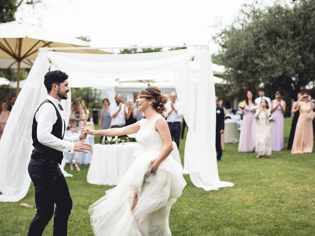 Il matrimonio di Andrea e Giulia a Pescantina, Verona 71