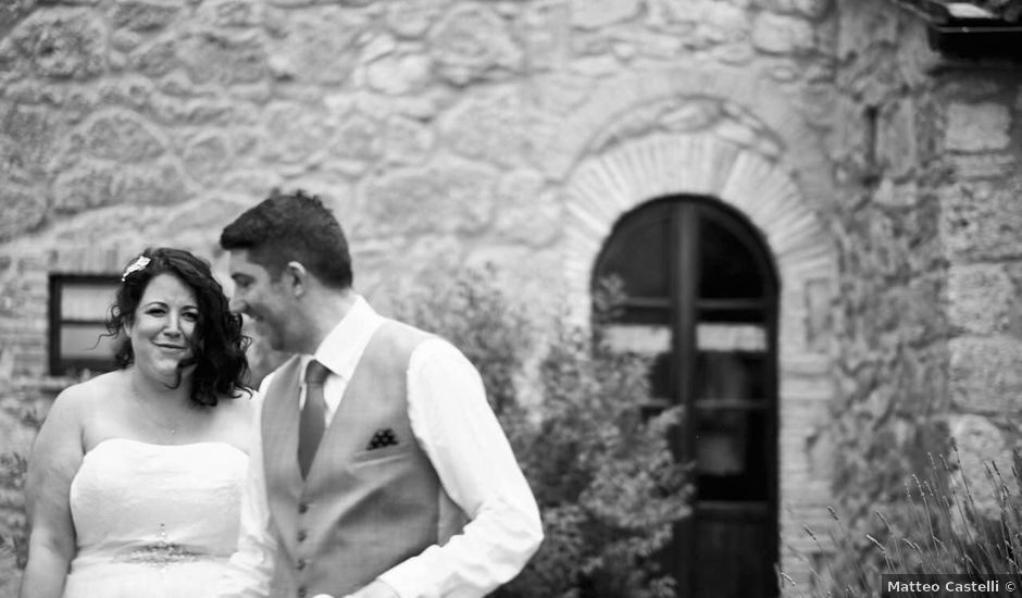 Il matrimonio di Mark e Anna a Sarteano, Siena