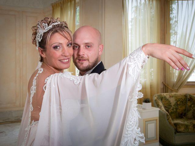 Il matrimonio di Gianmarco e Marina a Monte Romano, Viterbo 19