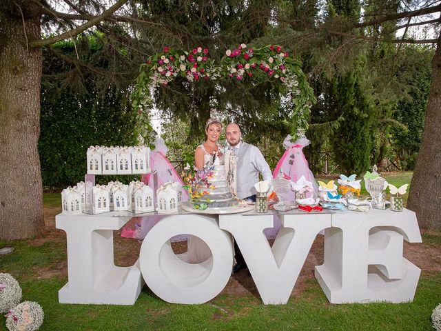 Il matrimonio di Gianmarco e Marina a Monte Romano, Viterbo 25