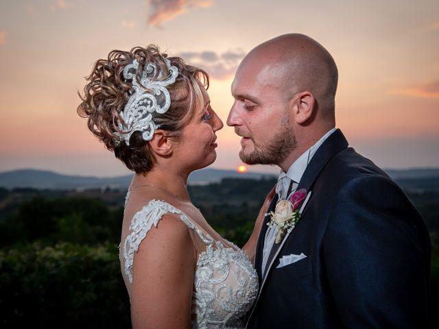 Il matrimonio di Gianmarco e Marina a Monte Romano, Viterbo 31