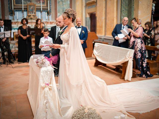 Il matrimonio di Gianmarco e Marina a Monte Romano, Viterbo 38