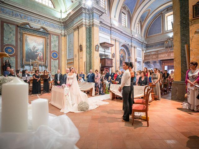 Il matrimonio di Gianmarco e Marina a Monte Romano, Viterbo 39