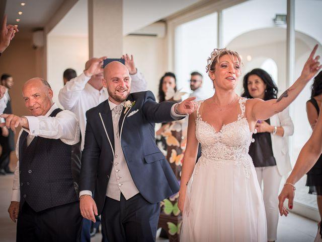 Il matrimonio di Gianmarco e Marina a Monte Romano, Viterbo 43