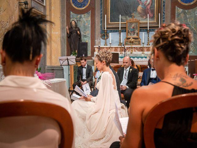 Il matrimonio di Gianmarco e Marina a Monte Romano, Viterbo 45