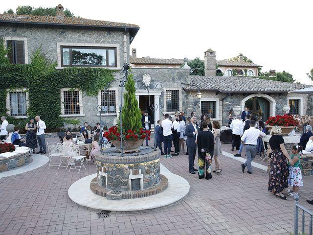 Il matrimonio di Manuel e Cecilia a Trevignano Romano, Roma 24
