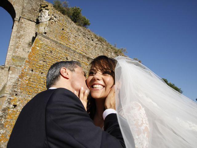 Il matrimonio di Manuel e Cecilia a Trevignano Romano, Roma 30