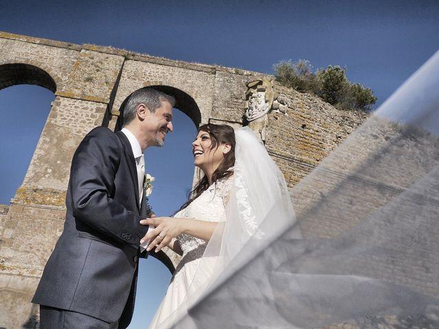 Il matrimonio di Manuel e Cecilia a Trevignano Romano, Roma 35
