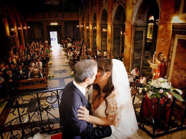 Il matrimonio di Manuel e Cecilia a Trevignano Romano, Roma 45