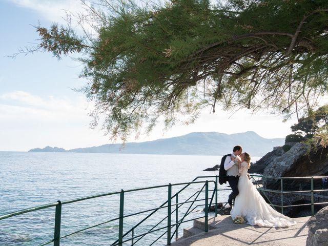Il matrimonio di Federico e Susanna a Zoagli, Genova 1