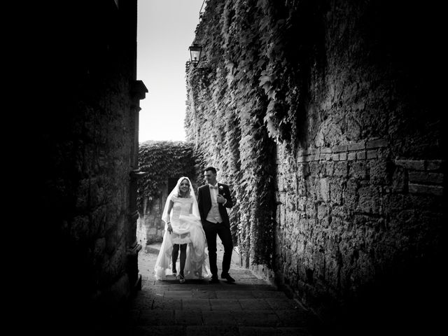 Il matrimonio di Federico e Nicoletta a Bagnoregio, Viterbo 43