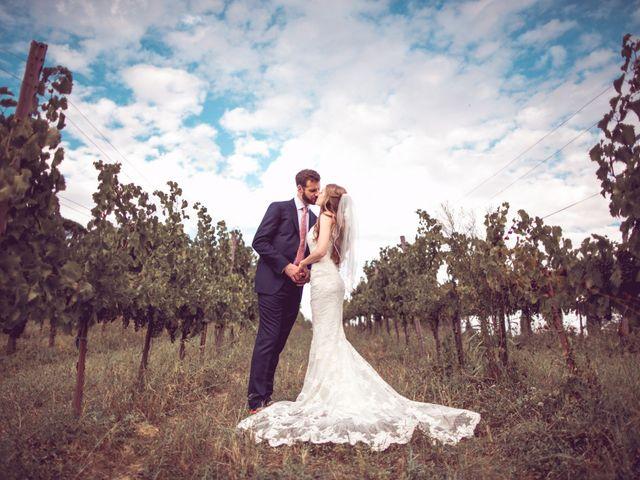 Il matrimonio di Jon e Meg a Montepulciano, Siena 1