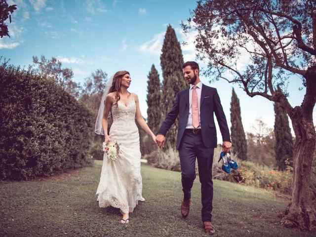 Il matrimonio di Jon e Meg a Montepulciano, Siena 37