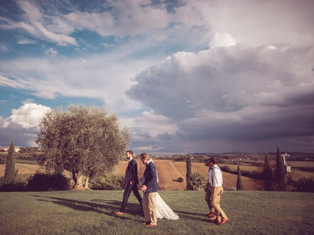 Il matrimonio di Jon e Meg a Montepulciano, Siena 39
