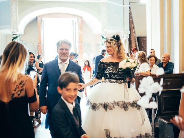 Il matrimonio di Gianluca e Vanessa a Vezzano Ligure, La Spezia 16
