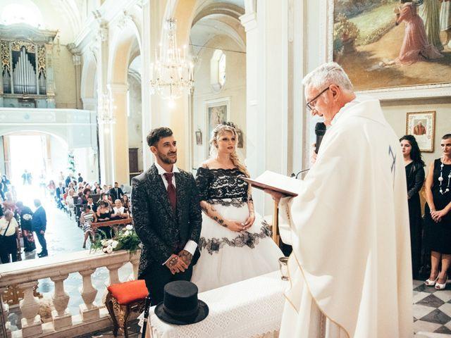 Il matrimonio di Gianluca e Vanessa a Vezzano Ligure, La Spezia 17