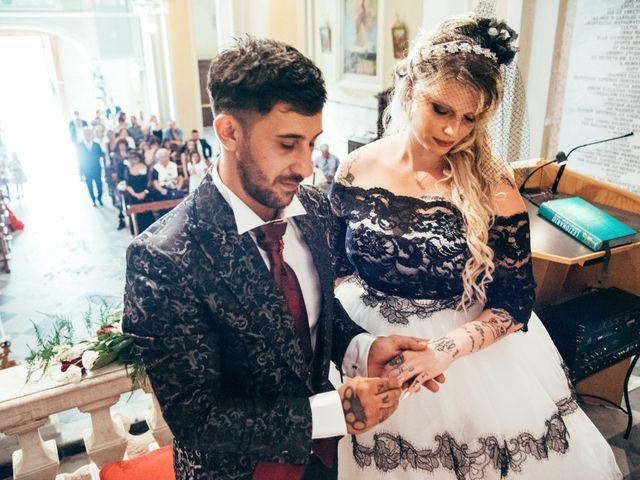 Il matrimonio di Gianluca e Vanessa a Vezzano Ligure, La Spezia 18