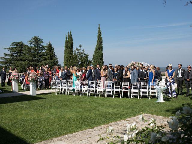 Il matrimonio di Luca e Claudia a Bassano Romano, Viterbo 22