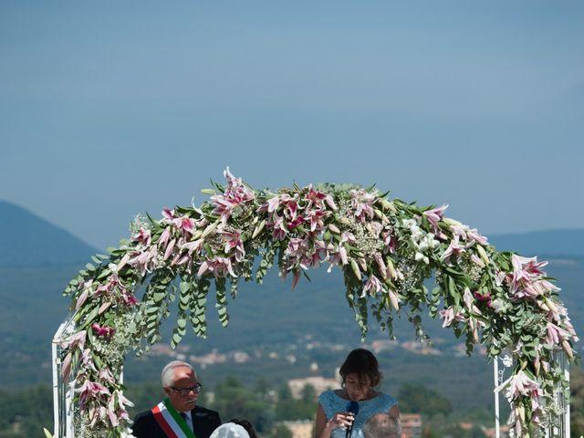 Il matrimonio di Luca e Claudia a Bassano Romano, Viterbo 25
