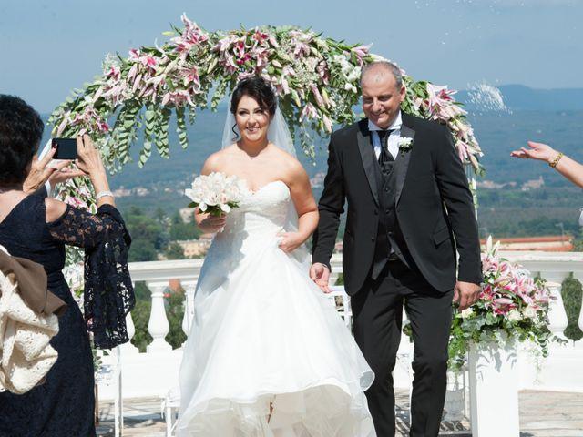 Il matrimonio di Luca e Claudia a Bassano Romano, Viterbo 27