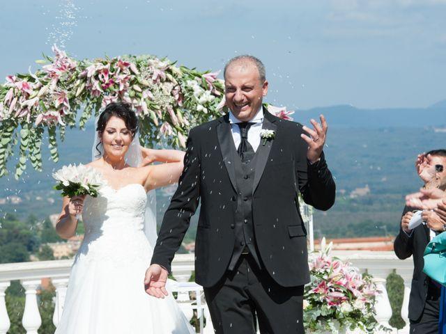 Il matrimonio di Luca e Claudia a Bassano Romano, Viterbo 28