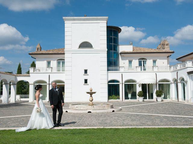 Il matrimonio di Luca e Claudia a Bassano Romano, Viterbo 38