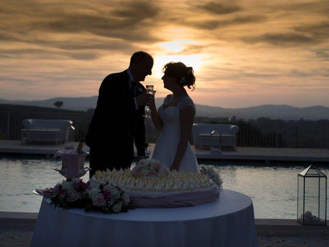 Il matrimonio di Luca e Claudia a Bassano Romano, Viterbo 63