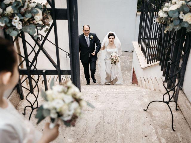 Il matrimonio di Francesco e Francesca a Tivoli, Roma 17