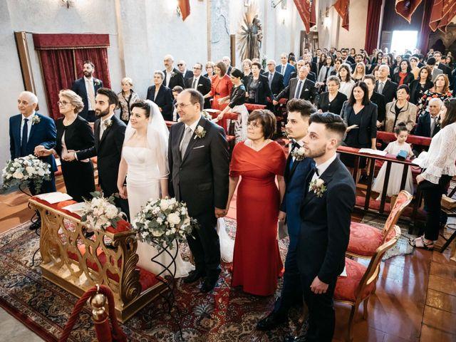 Il matrimonio di Francesco e Francesca a Tivoli, Roma 26