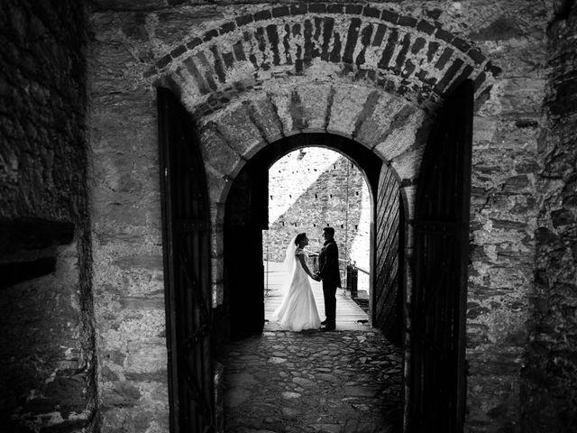 Il matrimonio di Andrea e Arianna a Cuveglio, Varese 22