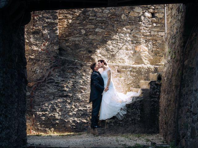 Il matrimonio di Andrea e Arianna a Cuveglio, Varese 23