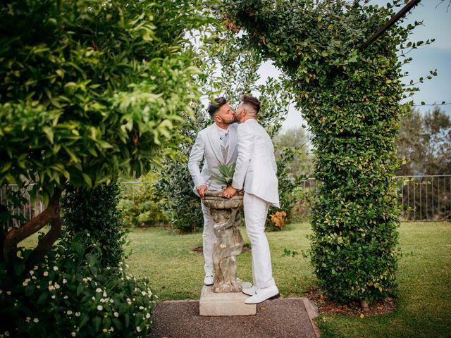 Il matrimonio di Carmelo e Salvo a San Giovanni la Punta, Catania 1