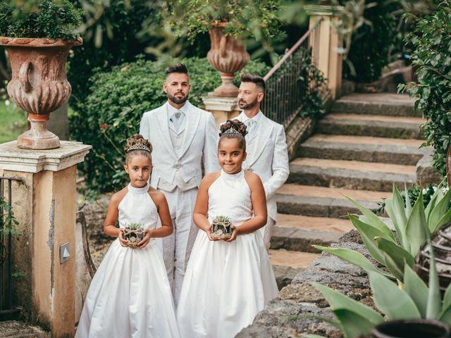 Il matrimonio di Carmelo e Salvo a San Giovanni la Punta, Catania 42