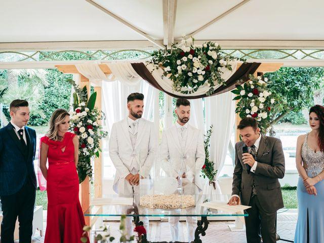 Il matrimonio di Carmelo e Salvo a San Giovanni la Punta, Catania 70