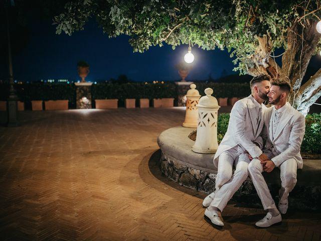 Il matrimonio di Carmelo e Salvo a San Giovanni la Punta, Catania 103