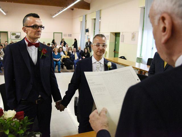Il matrimonio di Mauro e Stefano a San Zeno Naviglio, Brescia 2