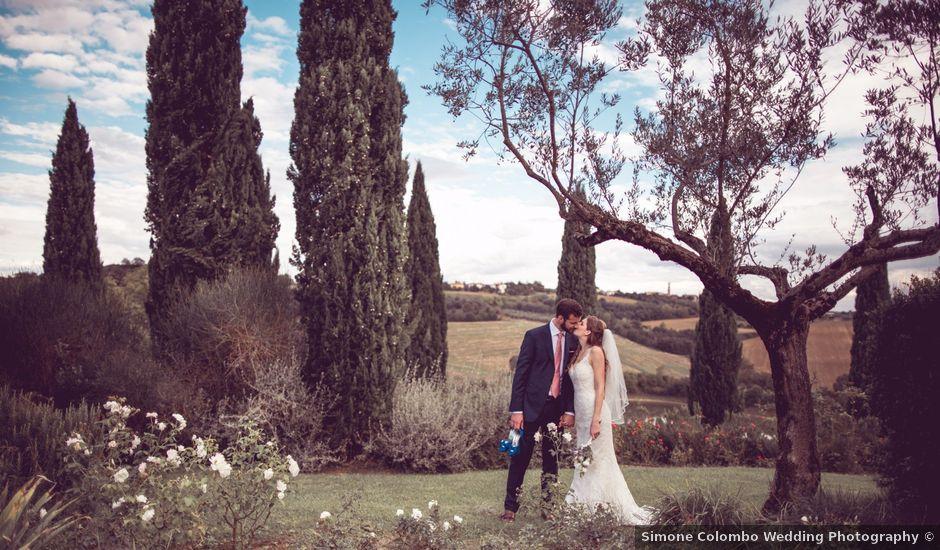 Il matrimonio di Jon e Meg a Montepulciano, Siena