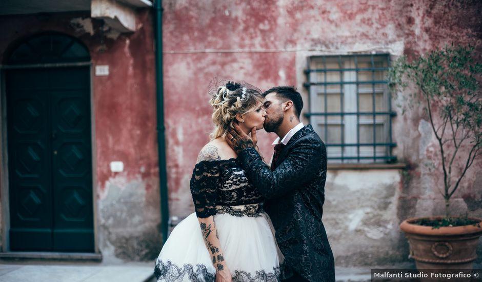 Il matrimonio di Gianluca e Vanessa a Vezzano Ligure, La Spezia