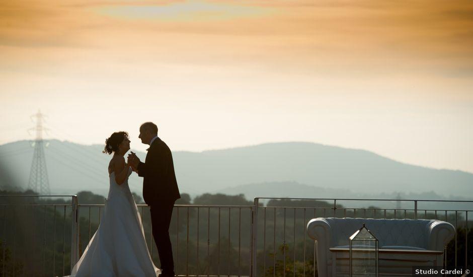 Il matrimonio di Luca e Claudia a Bassano Romano, Viterbo