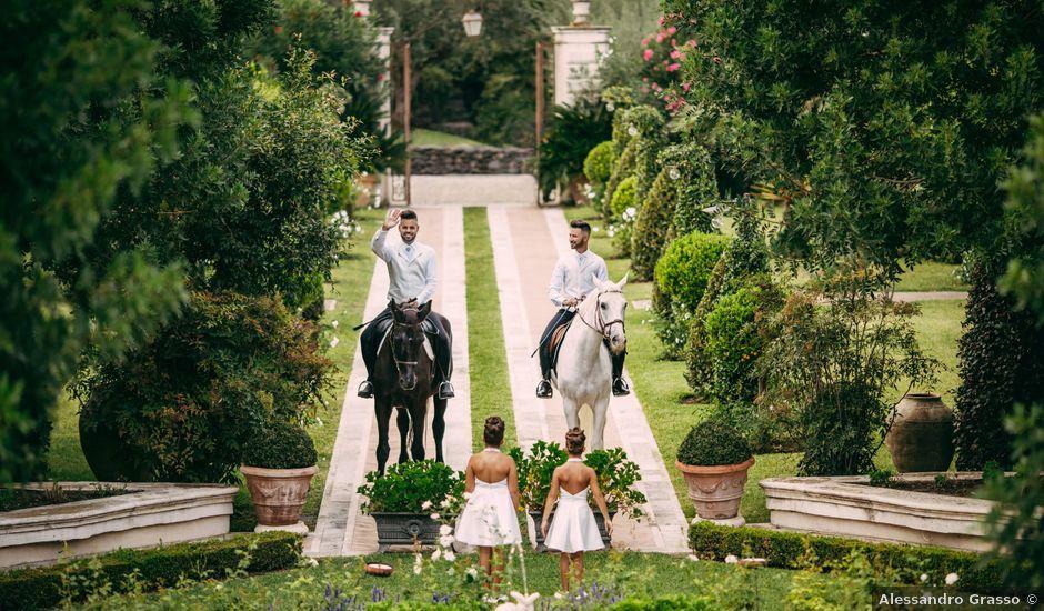 Il matrimonio di Carmelo e Salvo a San Giovanni la Punta, Catania