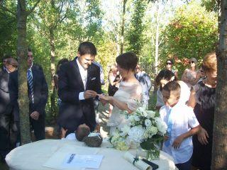 Le nozze di Sarah e Mirko