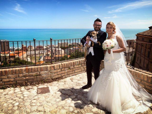 Il matrimonio di Jaivier e Martina a Grottammare, Ascoli Piceno 19